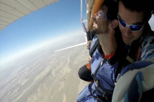 20150423 - Skydiving Benoit - 1 - Avion