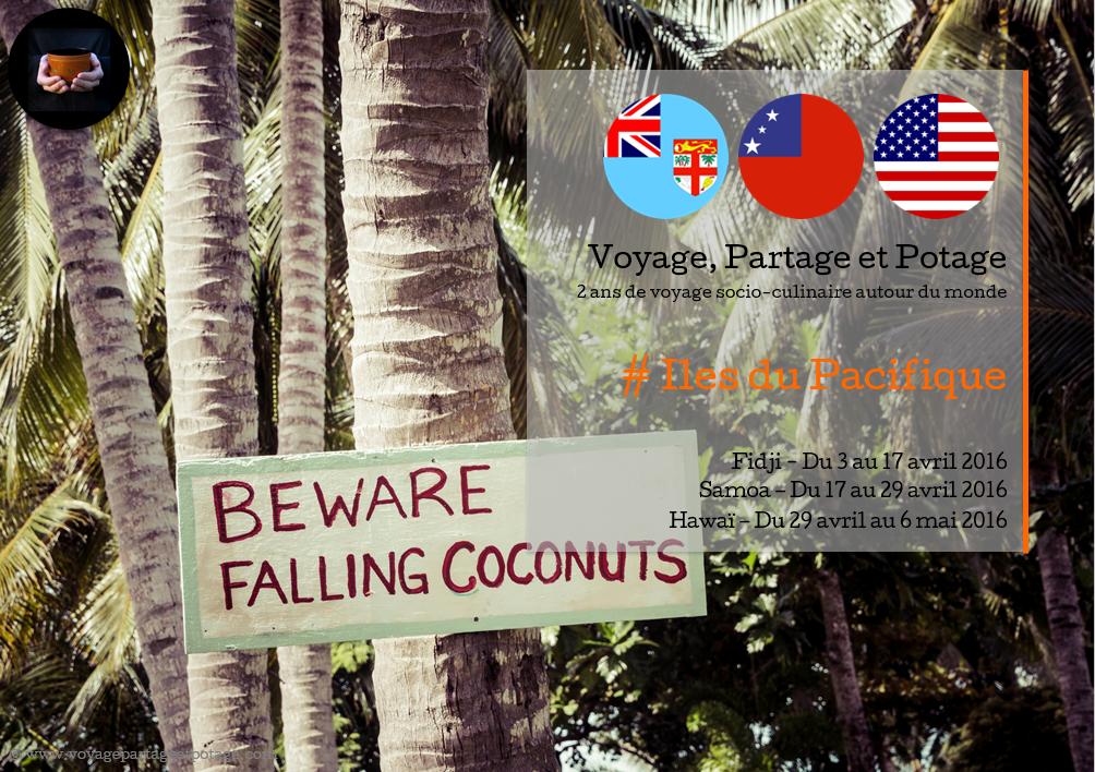 Bilan pays - Iles du Pacifique
